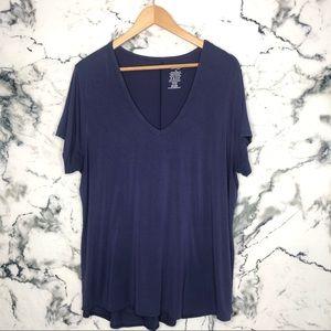 🧡3/$25🧡George V-Neck Shirt Plus Size 2XL